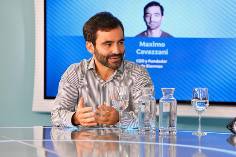 Máximo Cavazzani, CEO de Etermax, fundó la empresa en 2009, cuando tenía 22 años