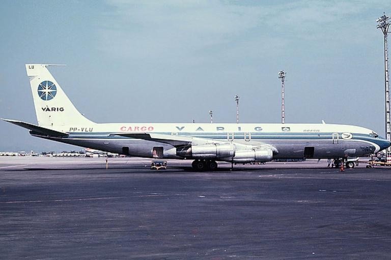 Da Silva empezó a pilotear aviones de Varig pero de la categoría de carga
