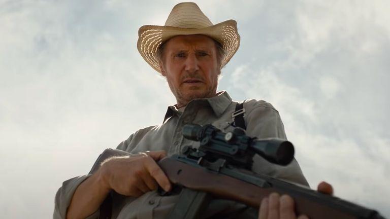 En El protector, Liam Neeson es un héroe de western a la sombra de Clint Eastwood