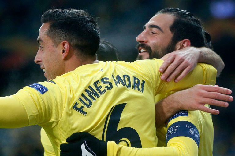 Ganaron todos. Lamela, Rulli, Tagliafico y Funes Mori, en la Europa League