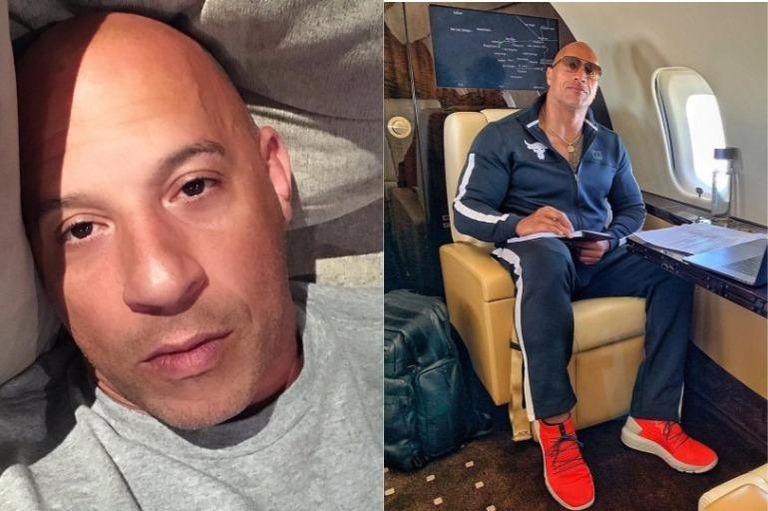 Dwayne Johnson y Vin Diesel: opiniones cruzadas