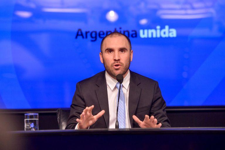 El ministro Martín Guzmán. Su Ministerio debe resolver sobre los precios para los biocombustibles