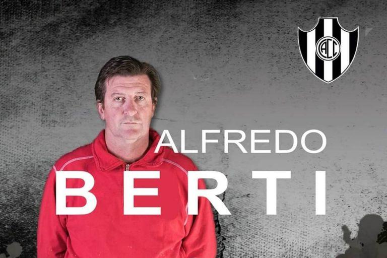 Alfredo Berti es el nuevo entrenador de Central Córdoba de Santiago del estero