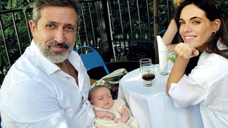 Emilia Attias y el Turco Naim disfrutan de los días con su beba Gina