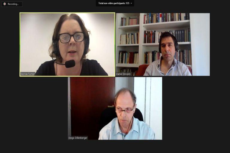 Denise Turner (Newsworks) dialogó con Daniel Dessein y Diego Dillenberger sobre el impacto de la pandemia en el periodismo