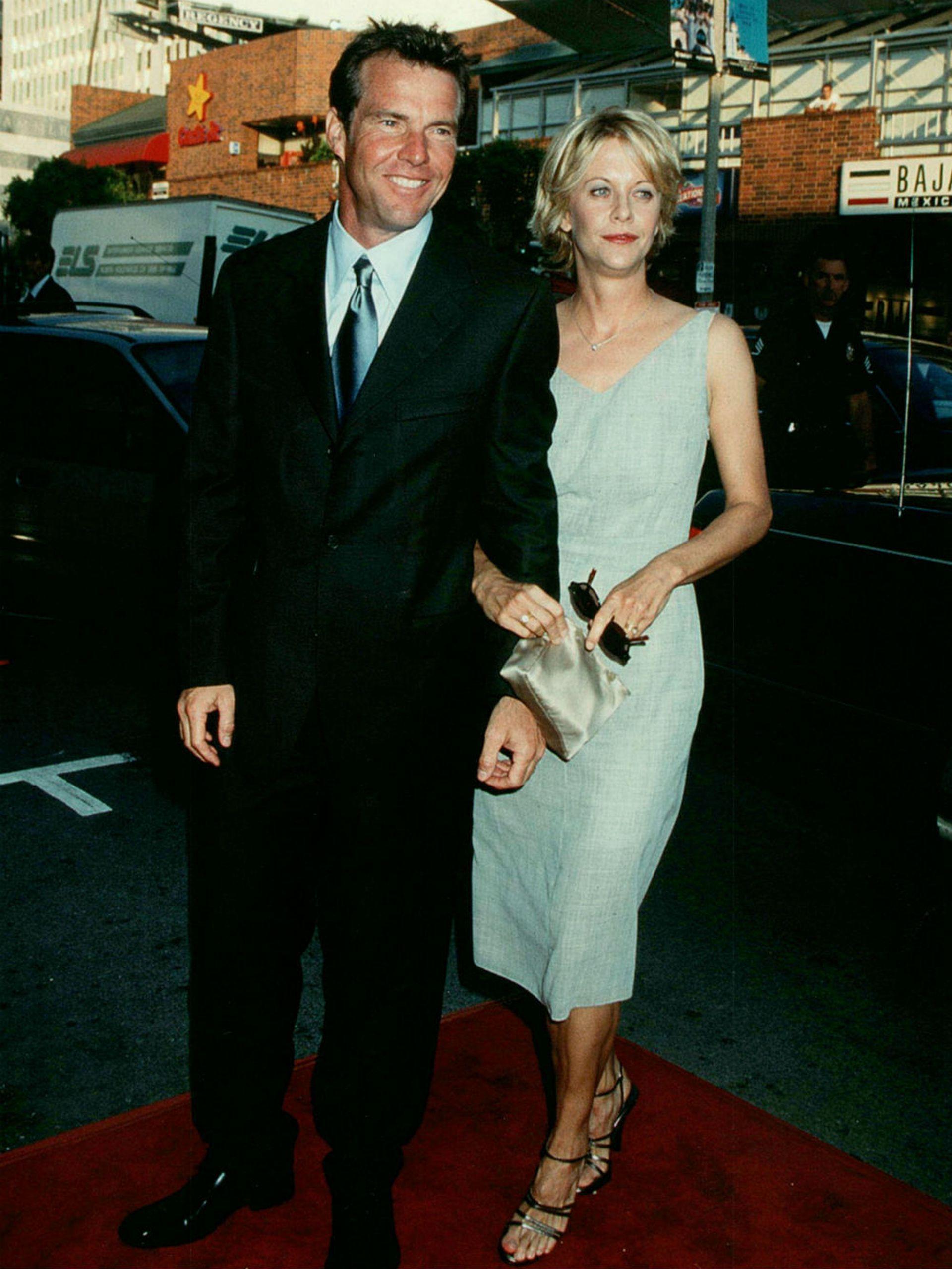 Dennis Quaid reveló que la popularidad de su exesposa fue un factor a la hora de considerar el divorcio, tras nueve años de casados