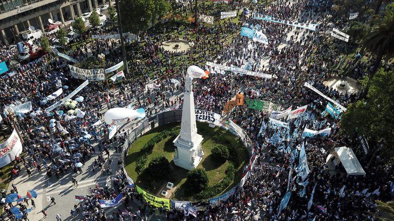 El Gobierno sintió la marcha como un respaldo de cara a las elecciones