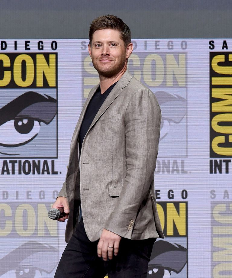 Jensen Ackle en San Diego Comic Con