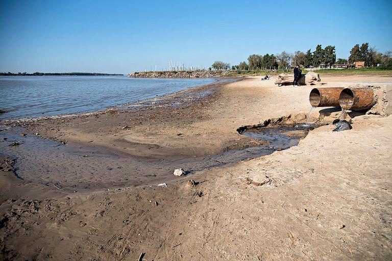 Por la bajante del río Paraná, destinan un fondo de $1.000 millones para las provincias afectadas