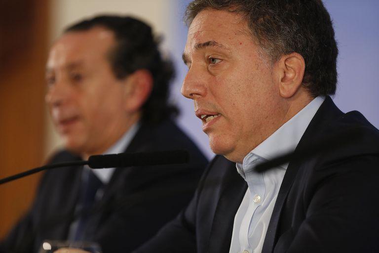 """El ministro de Hacienda, Nicolás Dujovne, dijo que las medidas anunciadas hoy """"no son un cambio de fondo"""""""