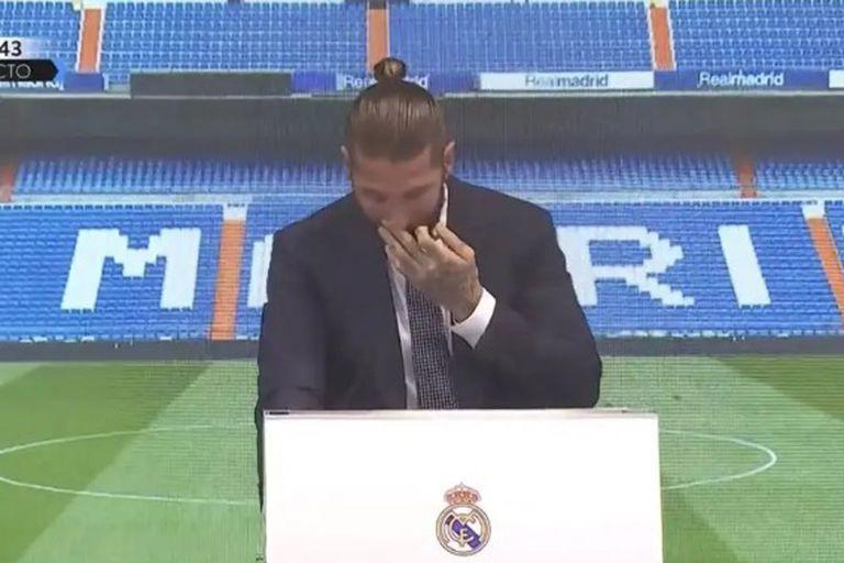 """Sergio Ramos se fue entre lágrimas de Real Madrid y se sintió traicionado: """"Nunca me quise ir"""""""