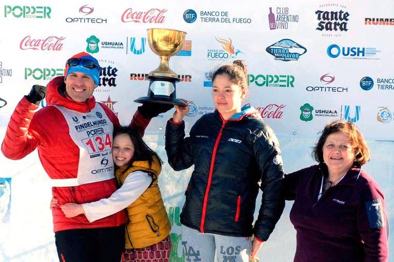 Esquí en Tierra del Fuego: historias que se cruzan en el canal de Beagle