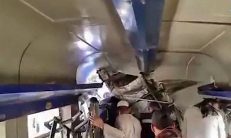 Accidente de tren en Egipto