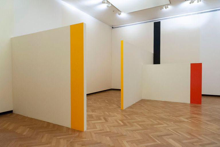 """""""Lo que he hecho es abrir una obra mía en todos los planos y hacerla habitable"""", dice el artista argentino radicado en Segovia sobre esta sala intervenida en el Museo Nacional de Bellas Artes"""