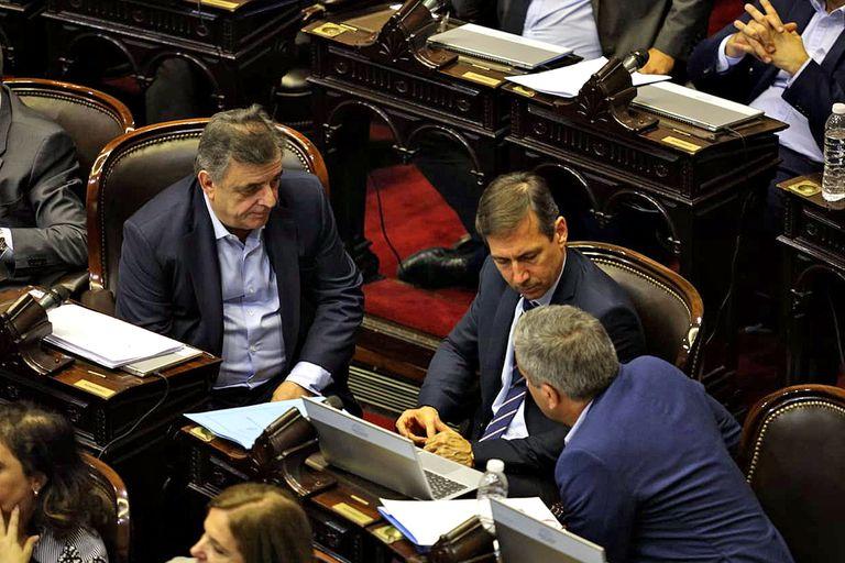 Mario Negri y Luis Naidenoff apoyaron las medidas del Gobierno
