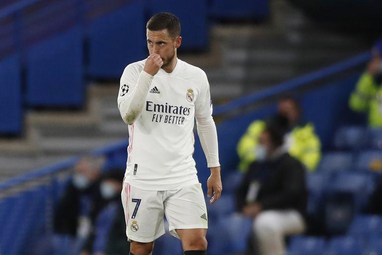 Eden Hazard, futbolista belga del Real Madrid, tendría sus días contados en la Casa Blanca y sería vendido en el próximo mercado de pases.