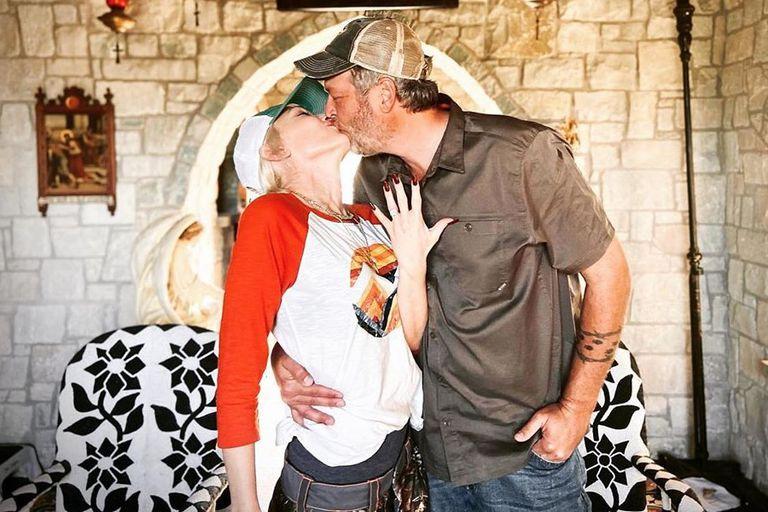 Gwen Stefani y Blake Shelton se comprometieron en octubre de 2020