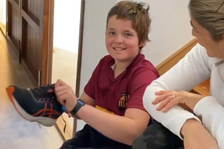 Pedro Heguy, el chico polista que estuvo en coma, volvió al colegio y tiene un deseo irrefrenable
