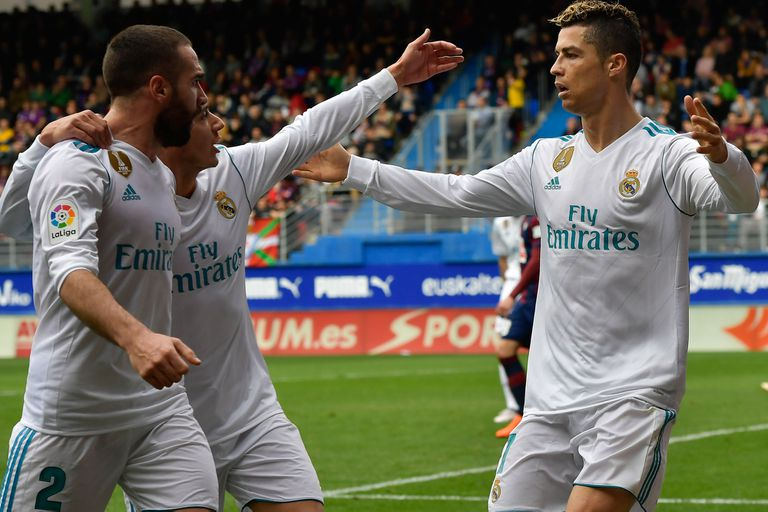 Cristiano salvó a Real Madrid: hizo los goles en el triunfo por 2-1 ante Eibar