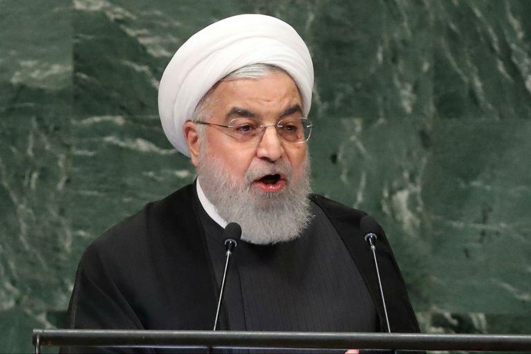 "Rohani acusó a Trump de querer ""derrocar"" al régimen iraní"