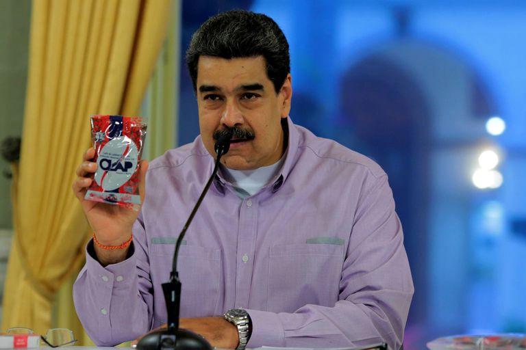 Maduro, en un acto en el Palacio de Miraflores