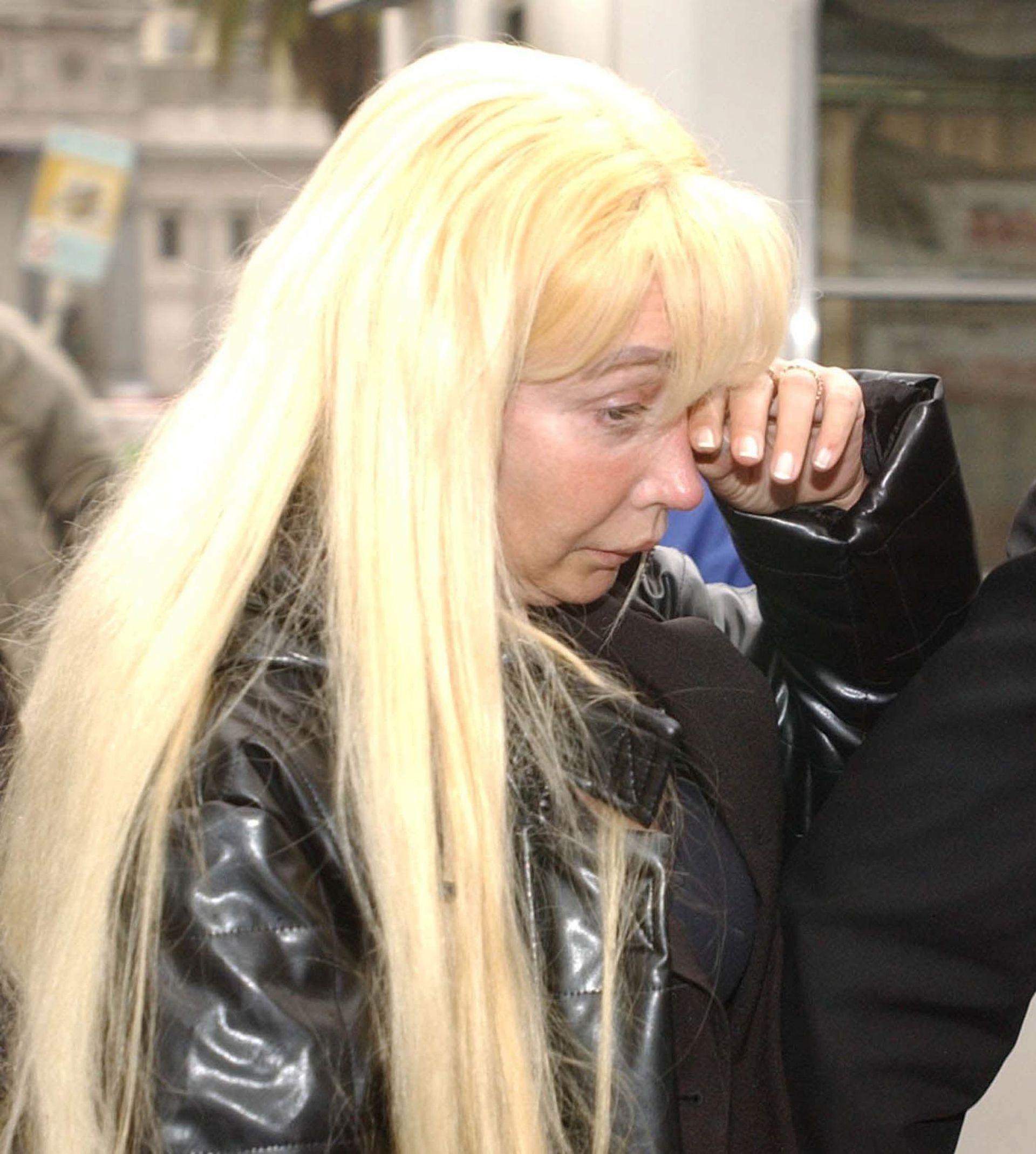 Giselle Rímolo queda detenida en 2003 tras el procesamiento dictado por Mariano Bergés