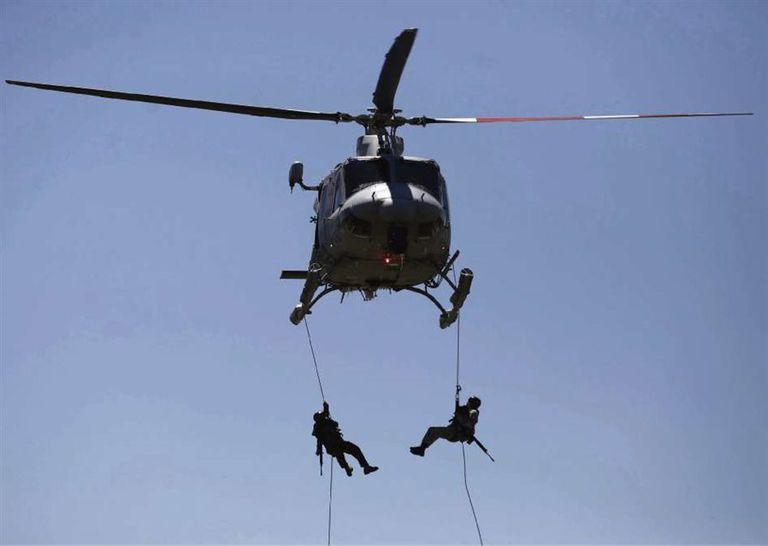 Un entrenamiento militar en Tandil marca la previa de la cumbre del G-20