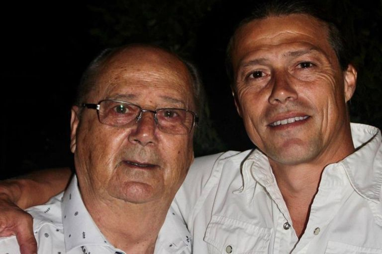 Murió de coronavirus el papá de Matías Almeyda