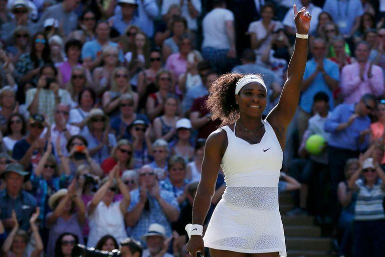 Serena irá por su tercera corona de Grand Slam en 2015