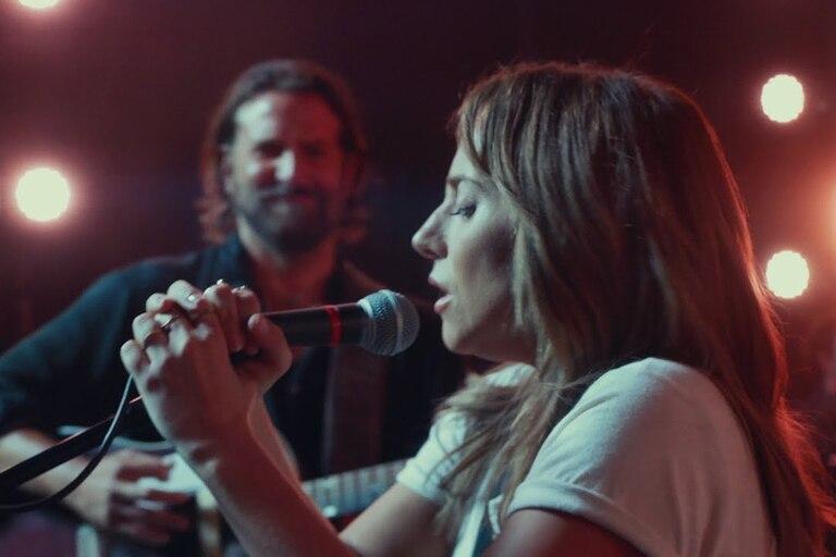 Bradley Cooper y Lady Gaga, en una escena del film