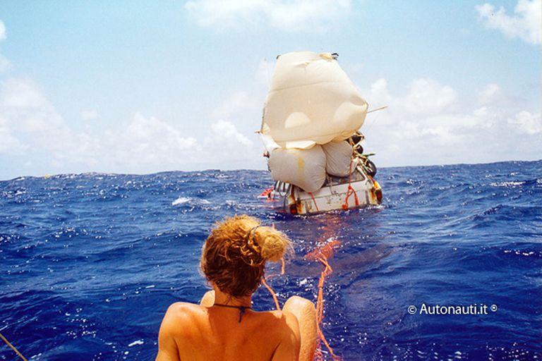 """""""Si no hacés cosas peligrosas y estás atento, el mar te respeta; solo hace falta escuchar el mar"""", dice Marco"""