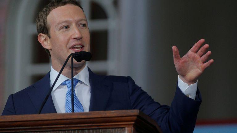 Mark Zuckerberg en mayo último