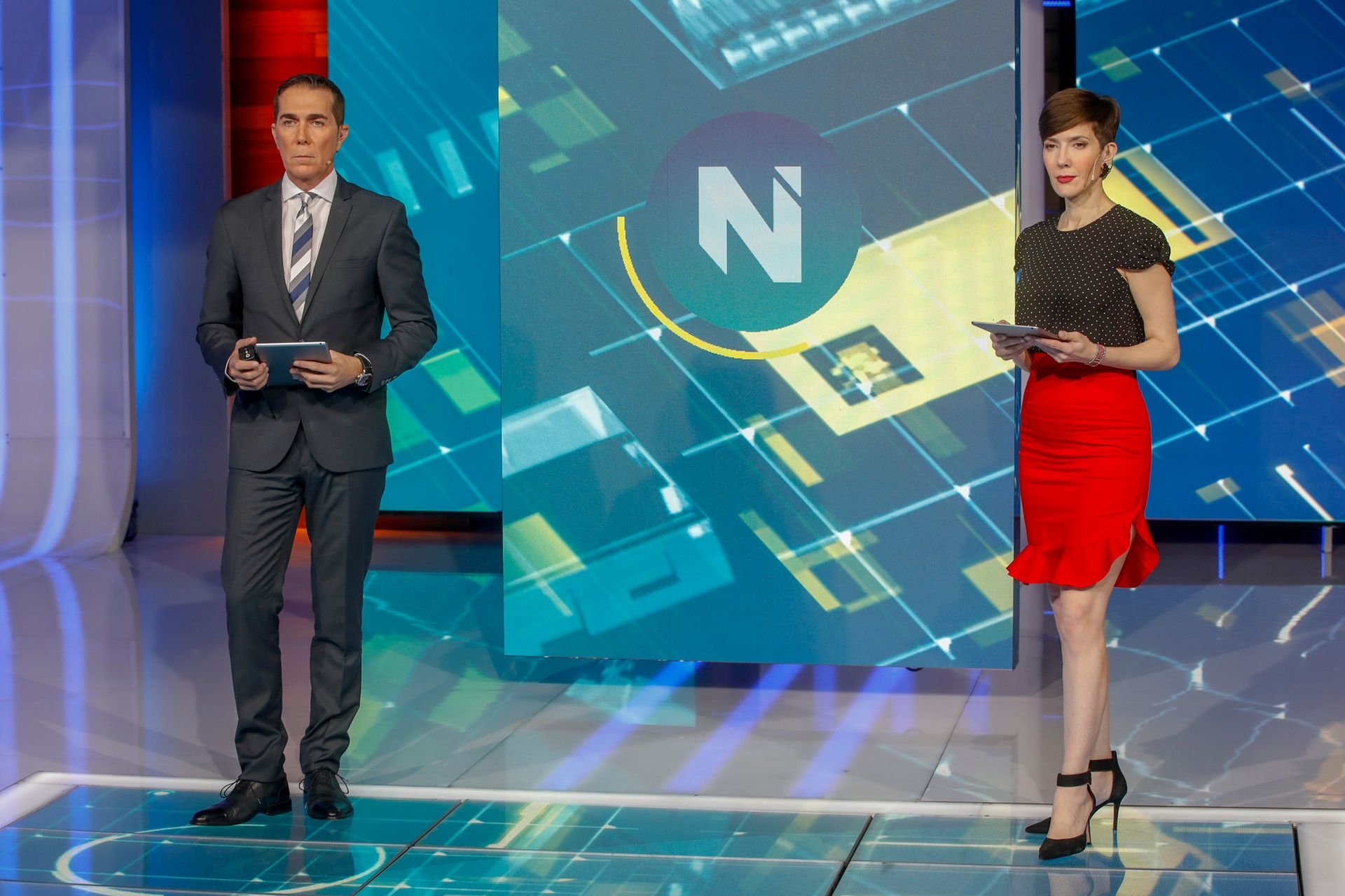 Telefe Noticias compite en la categoría mejor noticiero