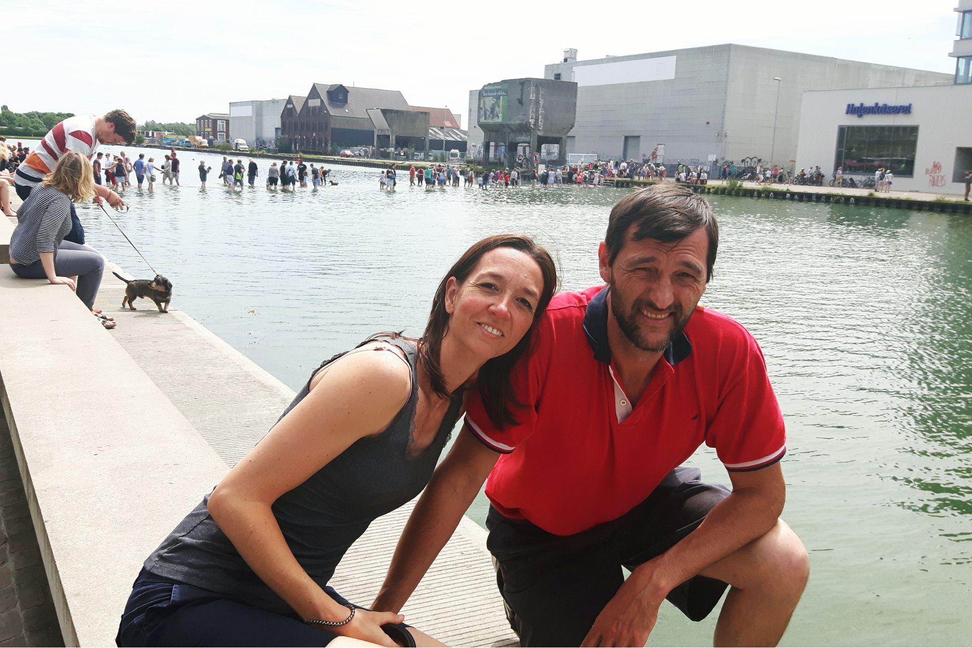 Gabriela y Denis.