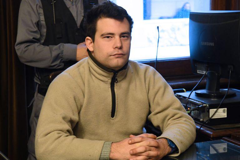 Gabriel David Marino, acusado como coautor del crimen, se negó a hacer uso de su derecho a las últimas palabras