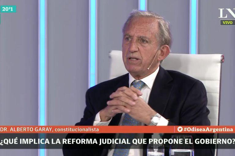 """Alberto Garay: la reforma de la Procuración es una """"mala idea en un mal momento"""""""