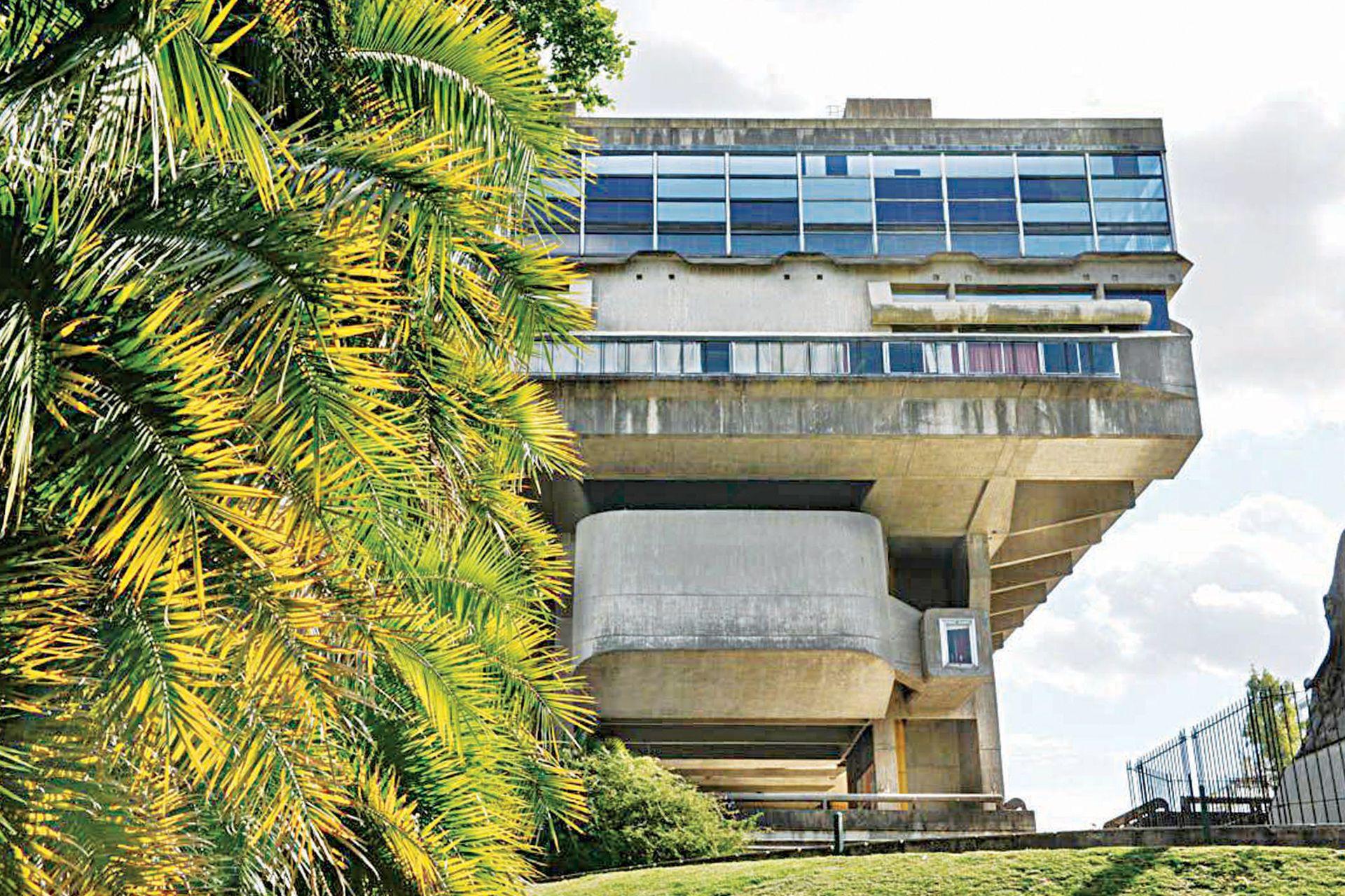 La Biblioteca Nacional, un hito del patrimonio arquitectónico porteño