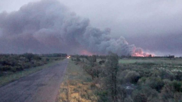 Temen por la expansión del fuego a otras regiones