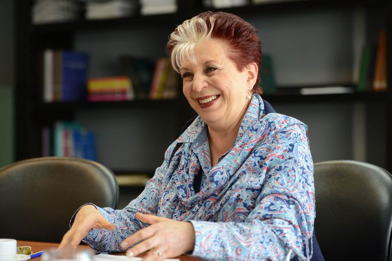 Elsa Barber, directora de la Biblioteca Nacional.