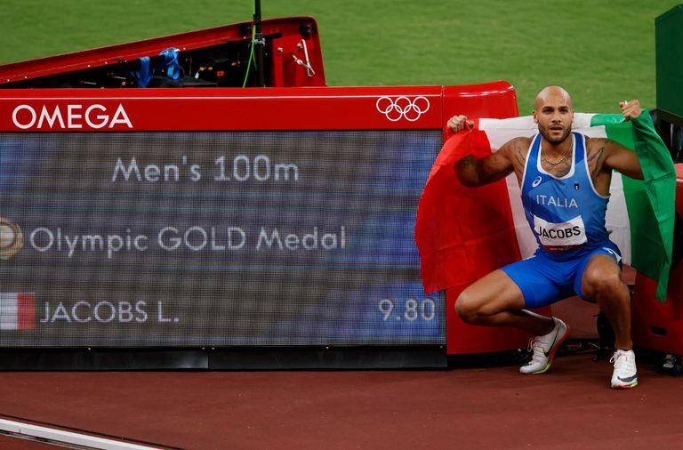 Final de 100m: medalla de Oro para el italiano Marcell Jacobs