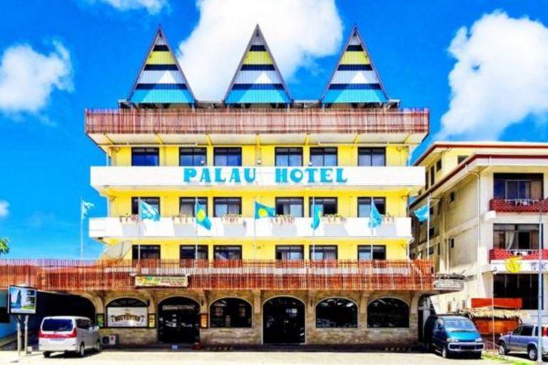 El Hotel Palau, en Koror, la mayor de las islas de Palaos.