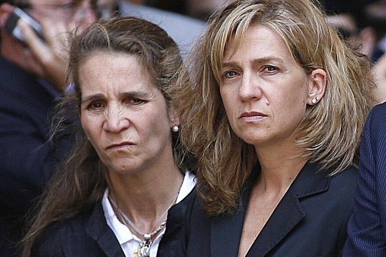 El accionar de las infantas Elena y Cristina fue repudiado por parte del gobierno de coalición español