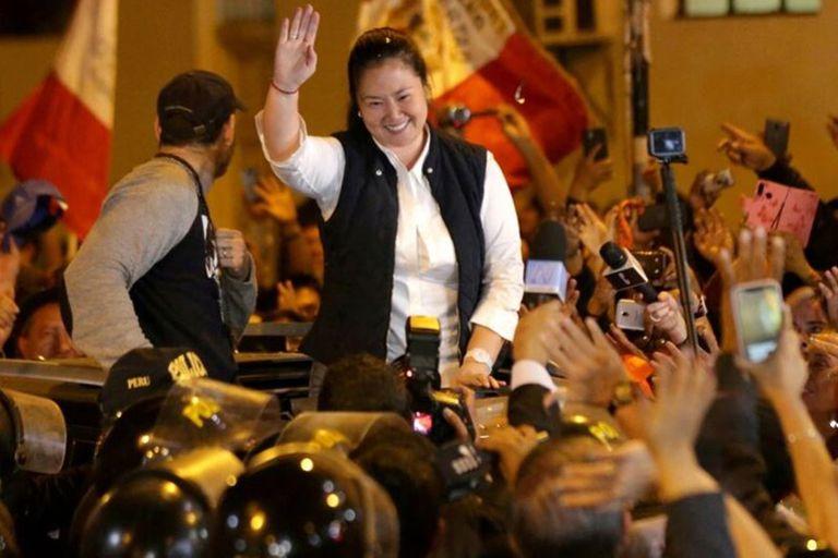 Hija del ex presidente Alberto Fujimori, Keiko fue liberada en abril de 2020, tras pasar tres meses en prisión preventiva en el marco del escándalo de la constructora brasileña Odebrecht