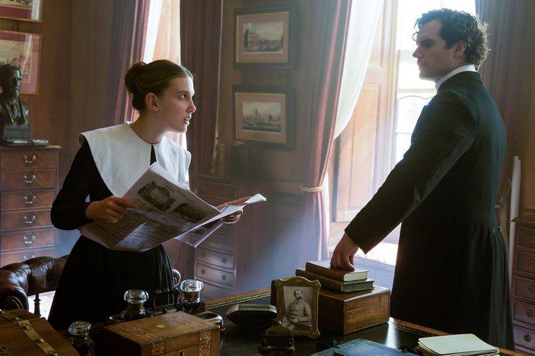Millie Bobby Brown y Henry Cavill regresaran como Enola y Sherlock Holmes en la secuela del éxito de Netflix