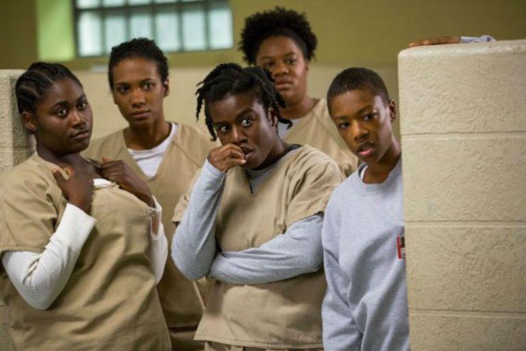 Parte del elenco de Orange is the New Black, una de las mejores comedias del año