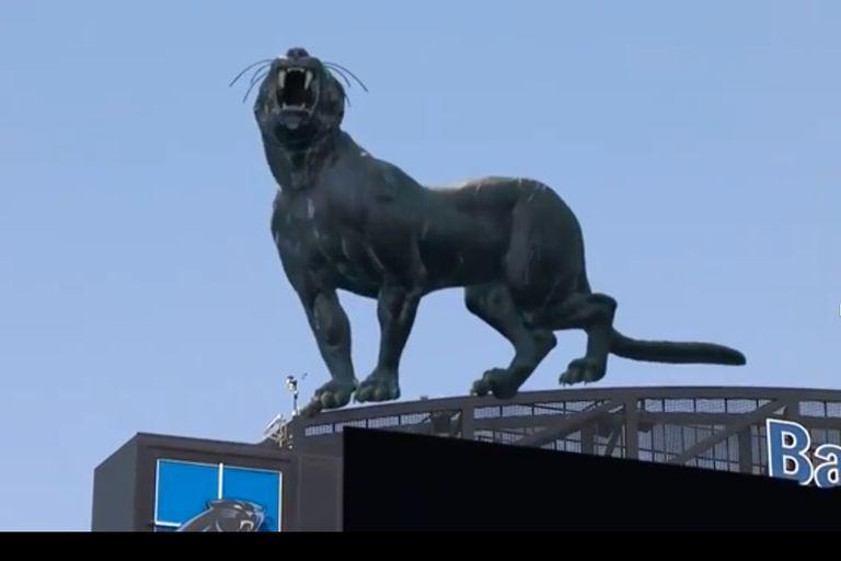 Realidad mixta en el partido de NFL entre Carolina Panthers y los New York Jets