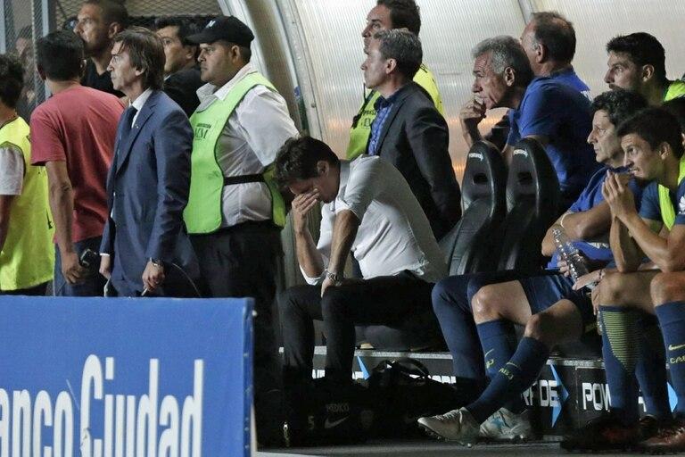 La decepción de Guillermo tras el empate