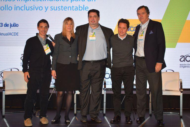 Roberto Souviron, Marita Carballo, Gustavo Iaies, Gabriel Sánchez Zinny y Enrique Cristofani
