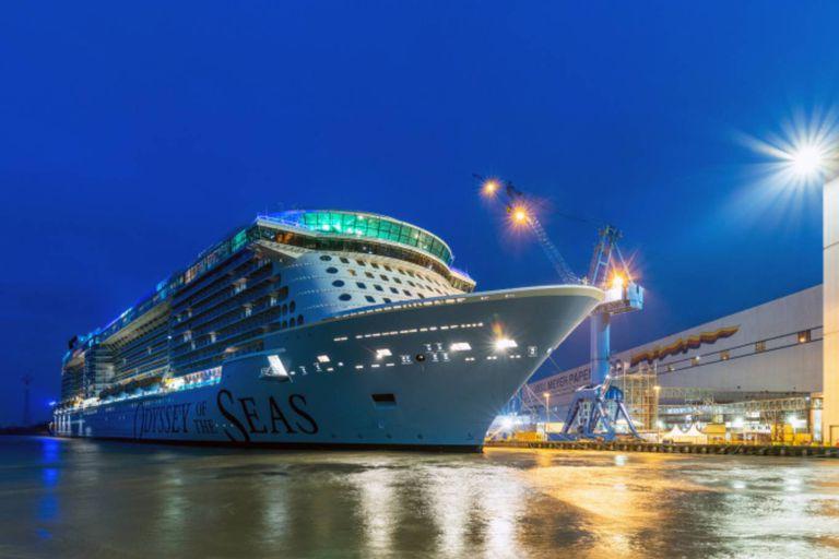 La compañía Royal Caribbean anunció que la nave Odissey of the seas partirá de Haifa y tanto la tripualción como los pasajeros mayores de 16 años estarán inoculados contra el coronavirus