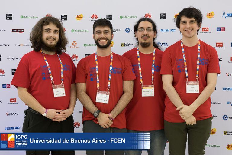 Un equipo argentino, el mejor de América latina en el Mundial Universitario de Programación